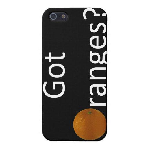 Naranjas conseguidos caso del iPhone 4 iPhone 5 Carcasa