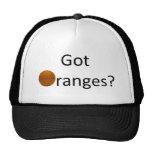 Naranjas conseguidos gorra