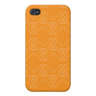 Naranjas de Avante Garde iPhone 4/4S Funda