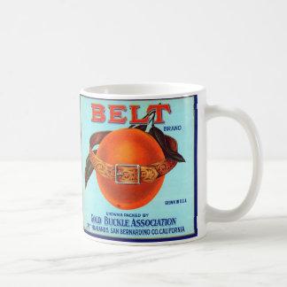 Naranjas de California de la marca de la correa Taza
