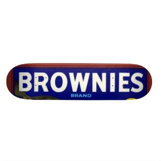 Naranjas de la marca de los brownie tabla de skate