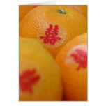 Naranjas de Shuan XI Tarjeta