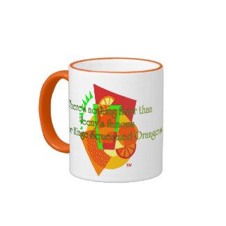 Naranjas exprimidos de la bisagra de puerta taza de dos colores