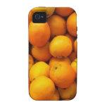 Naranjas frescos iPhone 4 fundas