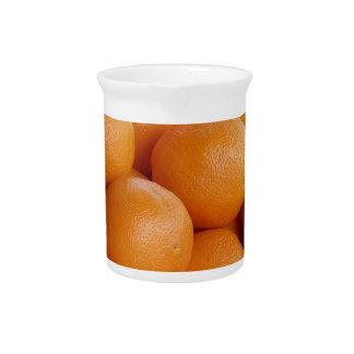naranjas jarrones