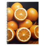 Naranjas Libro De Apuntes Con Espiral