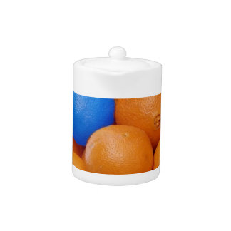 naranjas locos del chapoteo