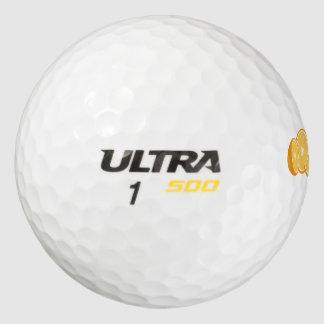 naranjas pack de pelotas de golf