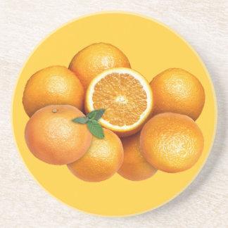 Naranjas Posavasos Para Bebidas