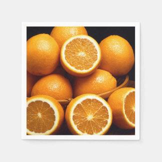 Naranjas Servilletas Desechables