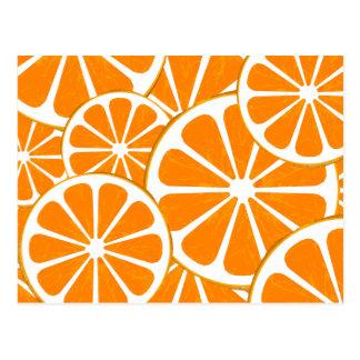 naranjas tarjetas postales