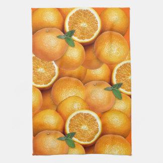 Naranjas Toalla De Cocina