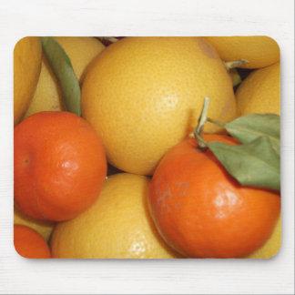 Naranjas y limones alfombrilla de ratones