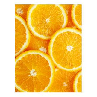 Naranjas y más naranjas postal