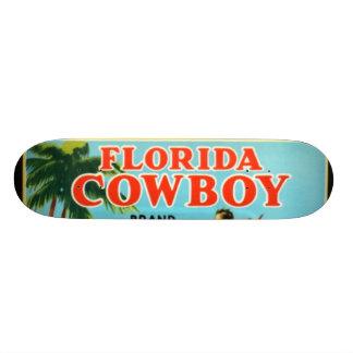 Naranjas y pomelos del vaquero de la Florida Monopatin