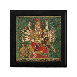 Narasimha Killing Hiranyakashipu On His Lap Jewelry Box