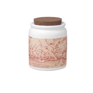 Narboneus Gaul Candy Jars