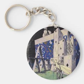 Narbut-Saltamontes de Heorhiy antes de un castillo Llavero Personalizado