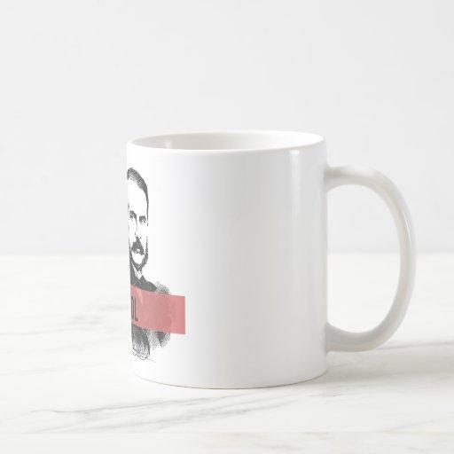 Narcís Monturiol Classic White Coffee Mug