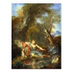 Narciso, 1728 tarjeta postal