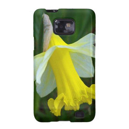 Narciso amarillo galaxy s2 carcasa