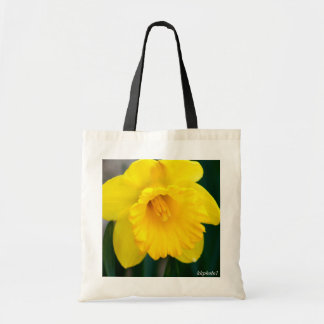 Narciso amarillo solitario bolsa tela barata