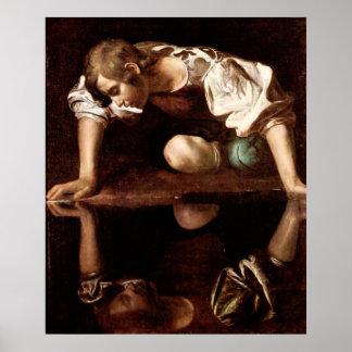 Narciso, Caravaggio Póster