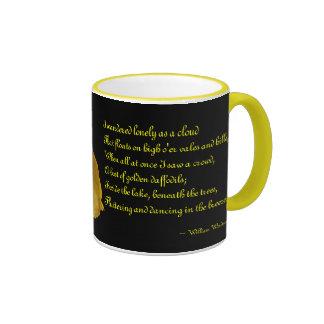 Narciso con la taza de cerámica del poema de Willi