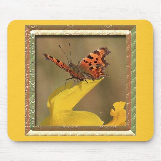 Narciso y mariposa de coma capítulo alfombrilla de raton