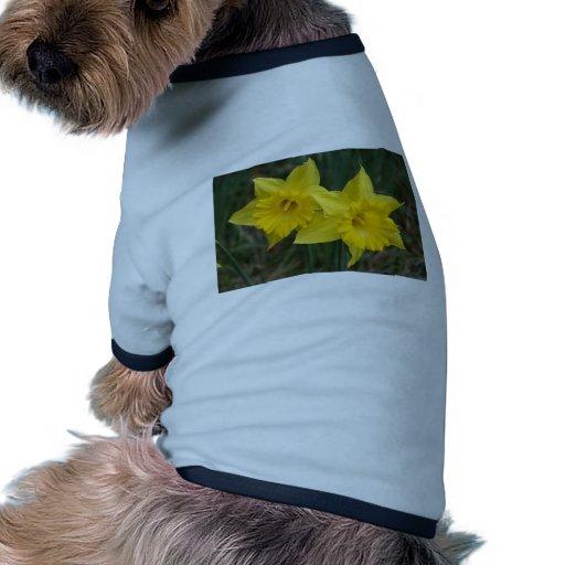 narcisos camiseta de perrito