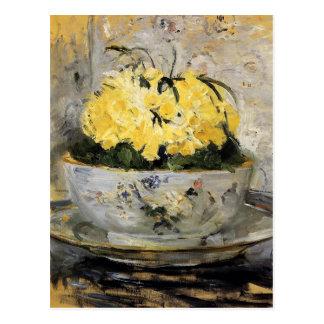 Narcisos de Berthe Morisot Postal