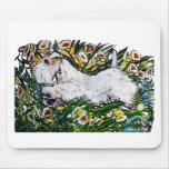 Narcisos de Sealyham Terrier Tapetes De Ratón