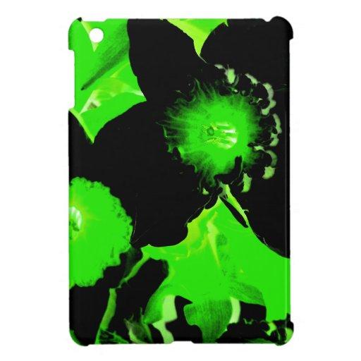 Narcisos verdes y negros iPad mini coberturas