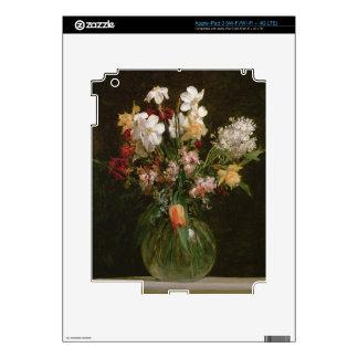 Narcisses Blancs, Jacinthes y Tulipes, 1864 iPad 3 Skins