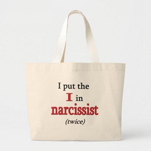 Narcissist Bolsa Tela Grande