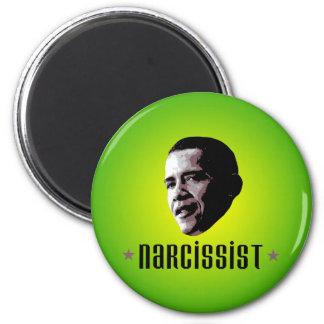 Narcissist de Barack Obama Imán Redondo 5 Cm