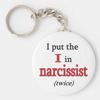 Narcissist Key Chains