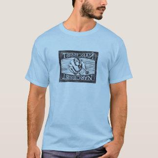 Narcissist (The Empty Self): Digitized woodcut T-Shirt