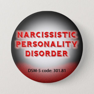Narcissistic Personality Disorder DSM-5 button