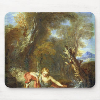 Narcissus, 1728 mouse pad