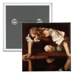 Narcissus by Caravaggio Pin