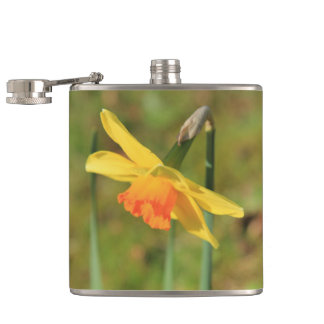 Narcissus by Thespringgarden Hip Flask