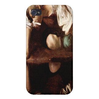 Narcissus, Caravaggio iPhone 4 Cover