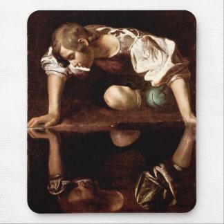 Narcissus, Caravaggio Mouse Pad