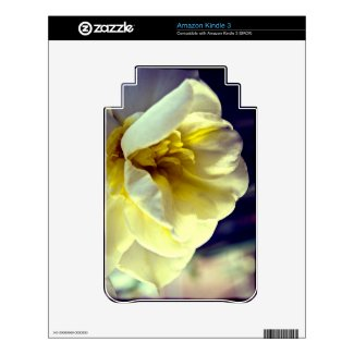 Narcissus Daffodil Kindle Skin musicskins_skin