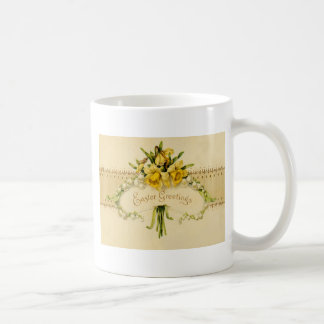 Narcissus Daffodil Lily of The Valley Easter Coffee Mug