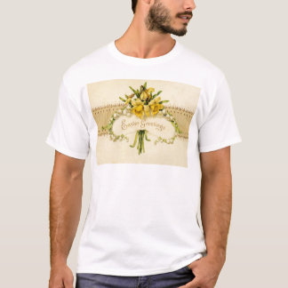 Narcissus Daffodil Lily of The Valley Easter T-Shirt
