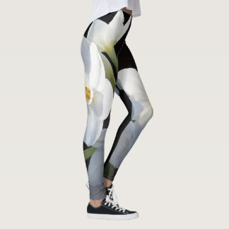 Narcissus Flowers All Over Print Leggings