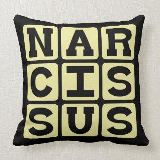 Narcissus Greek Myth Figure Pillows