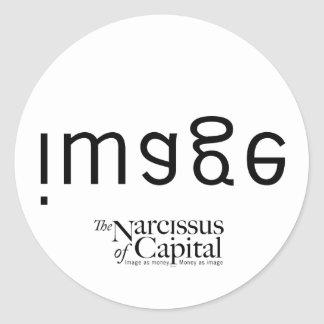 NARCISSUS of CAPITAL Classic Round Sticker